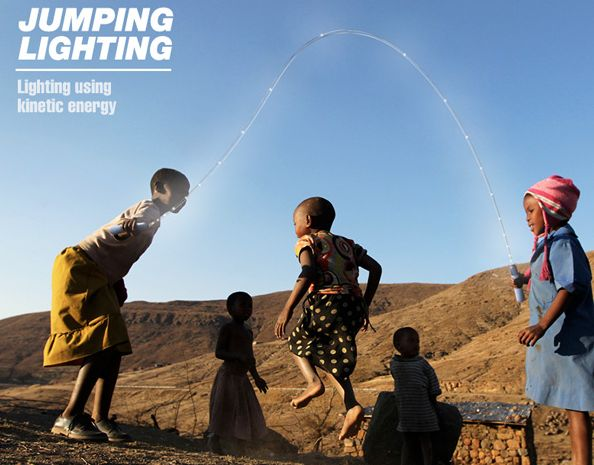 Jumping Lighting: invento ecológico para niños 1